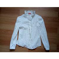 Блузка молочного цвета Маруся