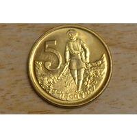 Эфиопия 5 центов 2008