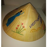 Шляпа НОН традиционная вьетнамская с вышивкой