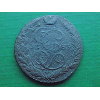 5 копеек 1789г. ЕМ медь
