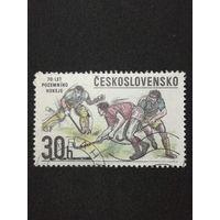 Чехословакия 1978. 70 летие хоккея с мячом. Полная серия