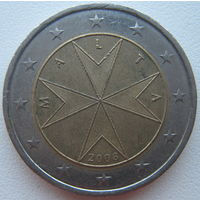Мальта 2 евро 2008 г.