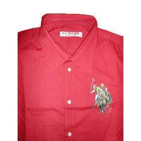 Стильная мужская рубашка элитного бренда U.S. Polo ASSN, 100 % оригинальная