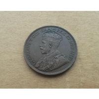 Канада, 1 цент 1916 г., Георг V (1910-1936), состояние