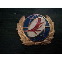 Кокарда БЕЛАВИА (Бело-красно-белый флаг)