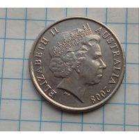 Австралия 10 центов 2008г.