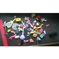 Лот мелких детских игрушек для девочки