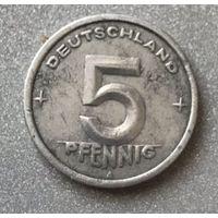 Германия (ГДР) 5 пфеннигов 1948 г