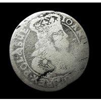 """6 ГРОШЕЙ ( ШЕСТАК ) 1668 Г. ЯН КАЗИМИР, """" TLB """" (КРАКОВ). ПО БЛИЦУ - ПОЧТОЙ БЕСПЛАТНО!"""
