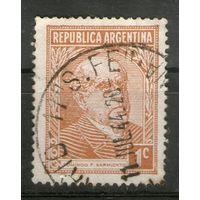 Аргентина. Гашеная. Лот-17