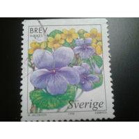 Швеция 1998 цветы