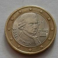 1 евро, Австрия 2011 г., AU
