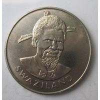 Эсватини (Свазиленд). 1 лилангени 1976 ФАО - Еда и убежище для всех .9G-14