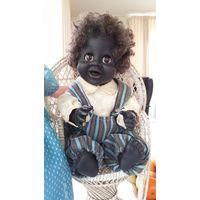 Характерная кукла Falca 42cм. Негритенок.