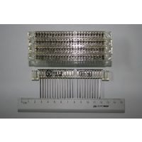 Куплю Разъемы РППГ-2-48 (РППГ2-48) белые как на фото, можно паяные, на плате. Цена 2-4 BYN за штуку