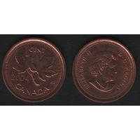Канада _km490 1 цент 2004 год km490 не магнит (h03)