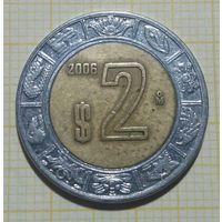 Мексика 2 Песо 2006
