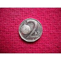 Чехия 2 кроны 2012 г.