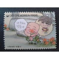 Корея Южная 1998 Комикс