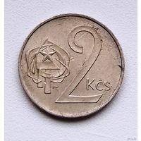 2 кроны Чехословакия. 1984г.