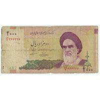 Иран, 2000 риалов 2000 год.
