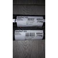 Клей герметик Sikaflex 221 , 600мл ( цвет Серый)