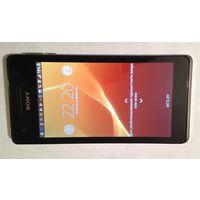 Телефон Sony Xperia V LT25i, белый. 25 руб.