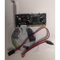 Контроллер SIL3114 (4xSATA+RAID, PCI)