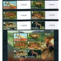 Дикие животные 2012 год серия из 6 марок и 1 блока