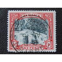 Ямайка. 1901г. Водопад.