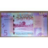 5 тала 2008-17 - Самоа - UNC