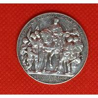 Монета 3 марки 1913 года. Германия. Пруссия. Серебро.