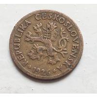 Чехословакия 10 геллеров, 1926 4-4-27