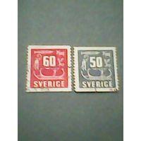 Швеция.Стандарт. 1954г. ;гашеная