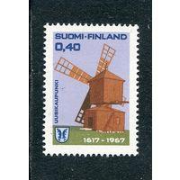Финляндия. Ветряная мельница