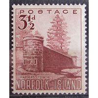 Британские колонии. Остров Норфолк 1953. Лот 6