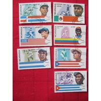 Никарагуа. 1984. Спорт. Серия 7 м.