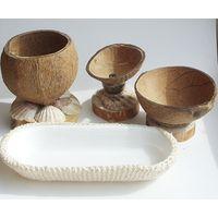 Набор для сервировки из кокоса