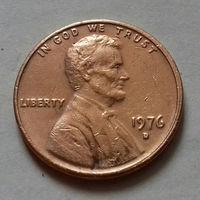 1 цент, США 1976 D