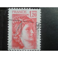 Франция 1978 стандарт 1,20