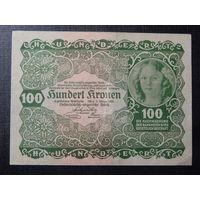 Австрия 100 крон 1922г