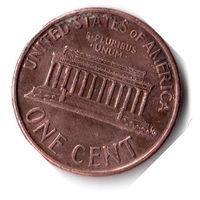 США. 1 цент. 1991 г.