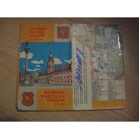 Карта Польша Варшава