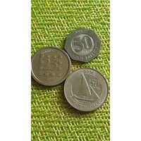 Ливан 25 50  1996 - 2006 3 монеты