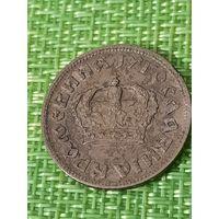 Югославия 2 динара 1938 г