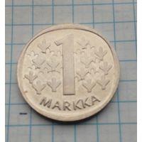 Финляндия 1 маркка 1991г.