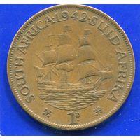 Южная Африка ЮАР 1 пенни 1942, Georg VI. Лот 2