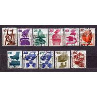 Безопасность человека. Стандарт. Германия. 1971-1974. Серия 11 марок.