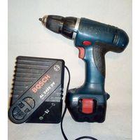 Шуруповерт Bosch и зарядное устройство для работы или на запчасти