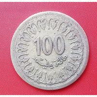 58-08 Тунис, 100 миллимов 1983 г.